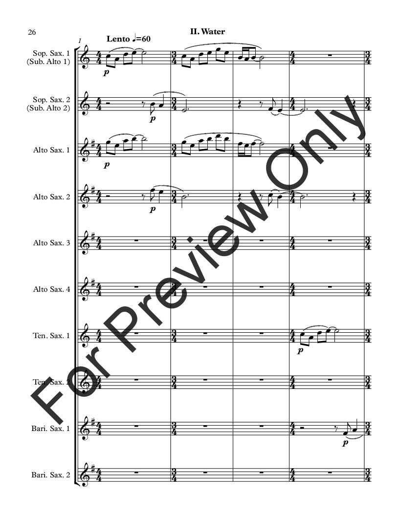 Elements for Saxophone Octet Thumbnail