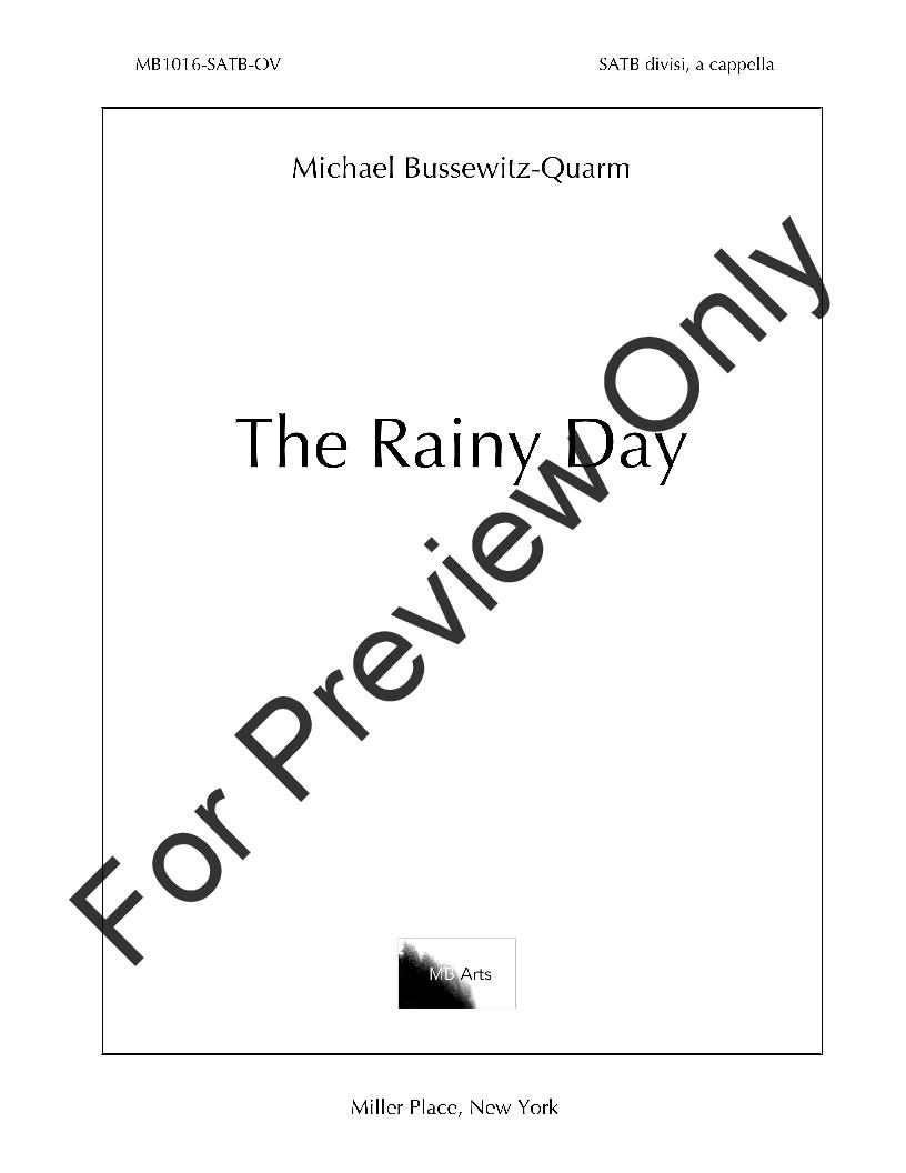 The Rainy Day Thumbnail