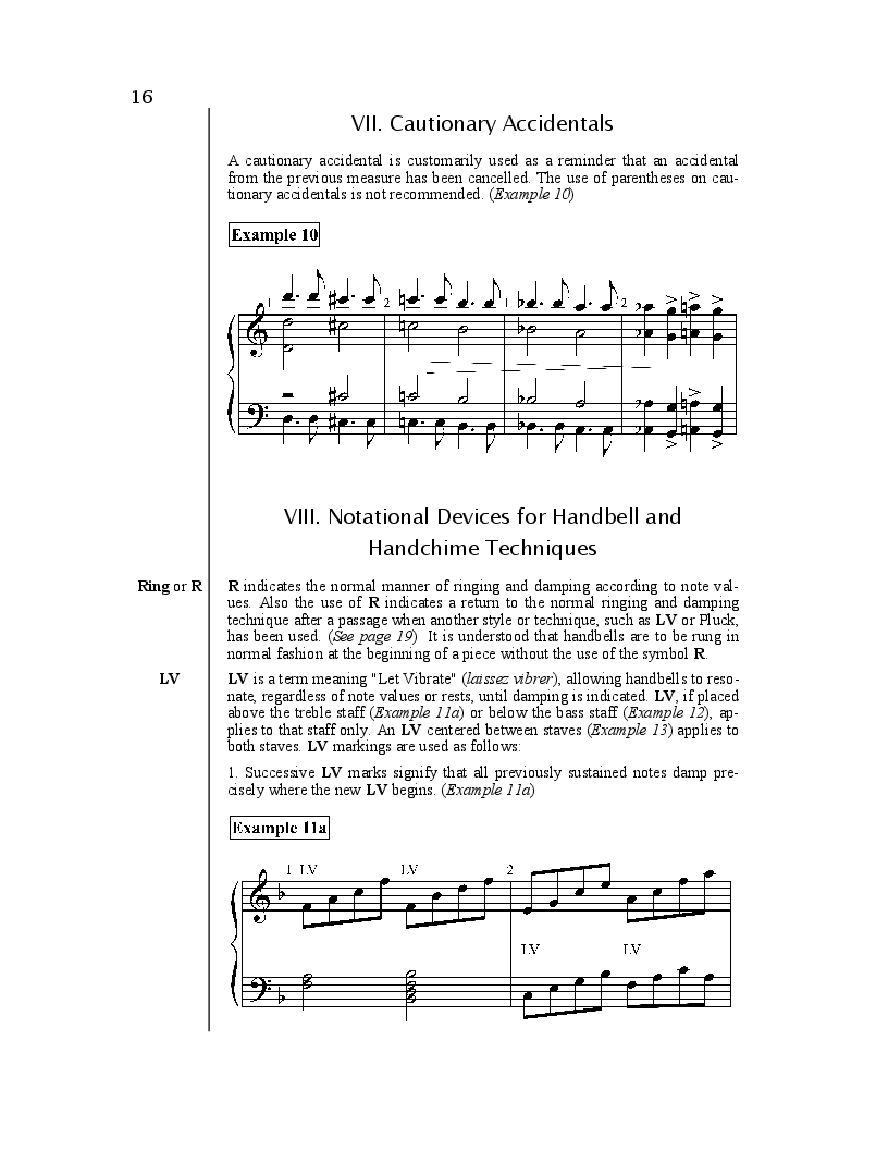 Handbell and Handchime Notation Thumbnail