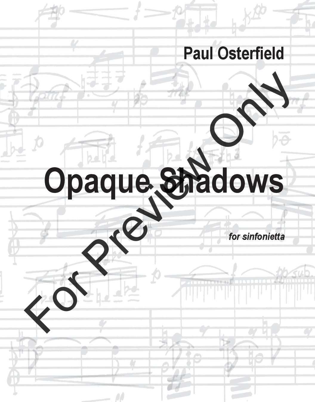 Opaque Shadows Thumbnail