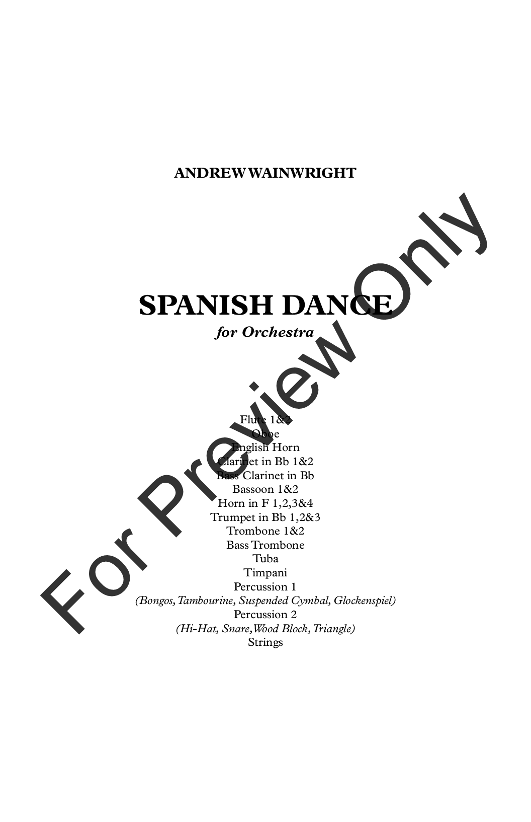 Spanish Dance Thumbnail