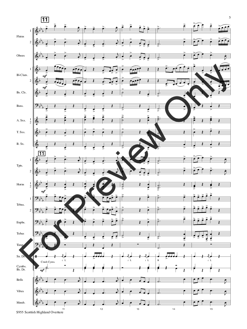 Scottish Highland Overture Thumbnail