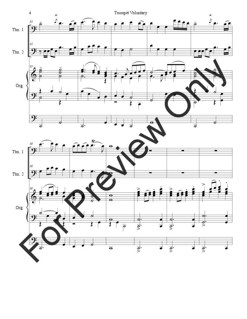 Trumpet Voluntary Thumbnail