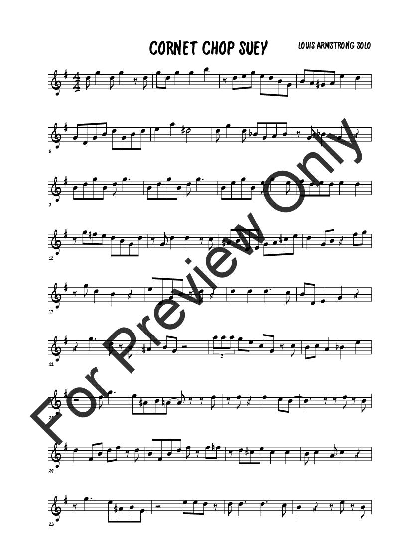 12 jazz Trumpet solo transcriptions (Trumpet | J W  Pepper