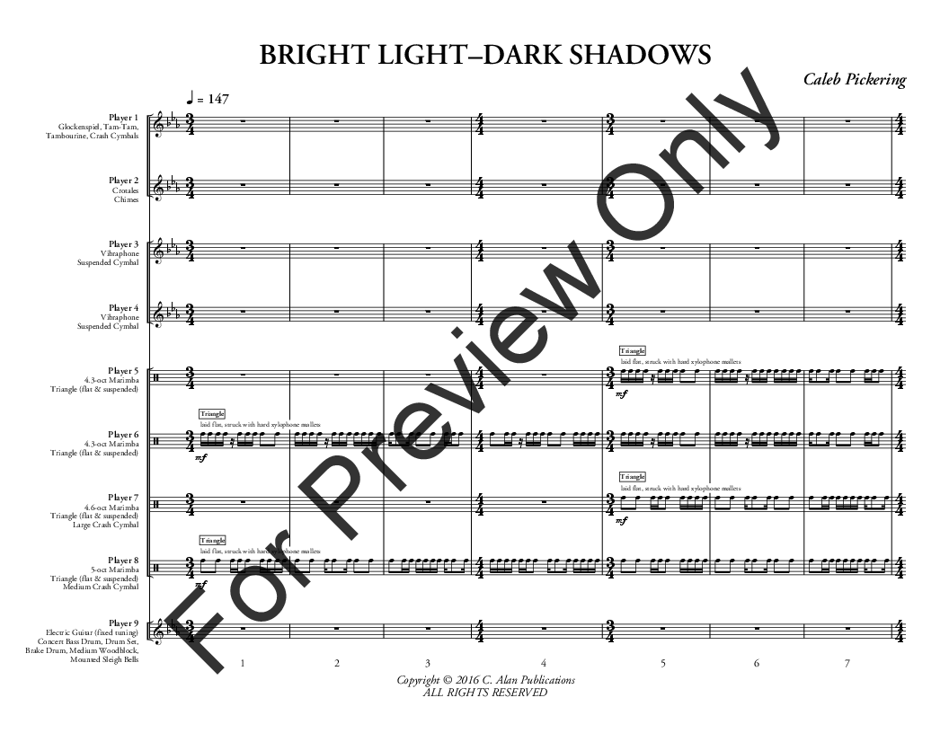 Bright Light Dark Shadows Thumbnail