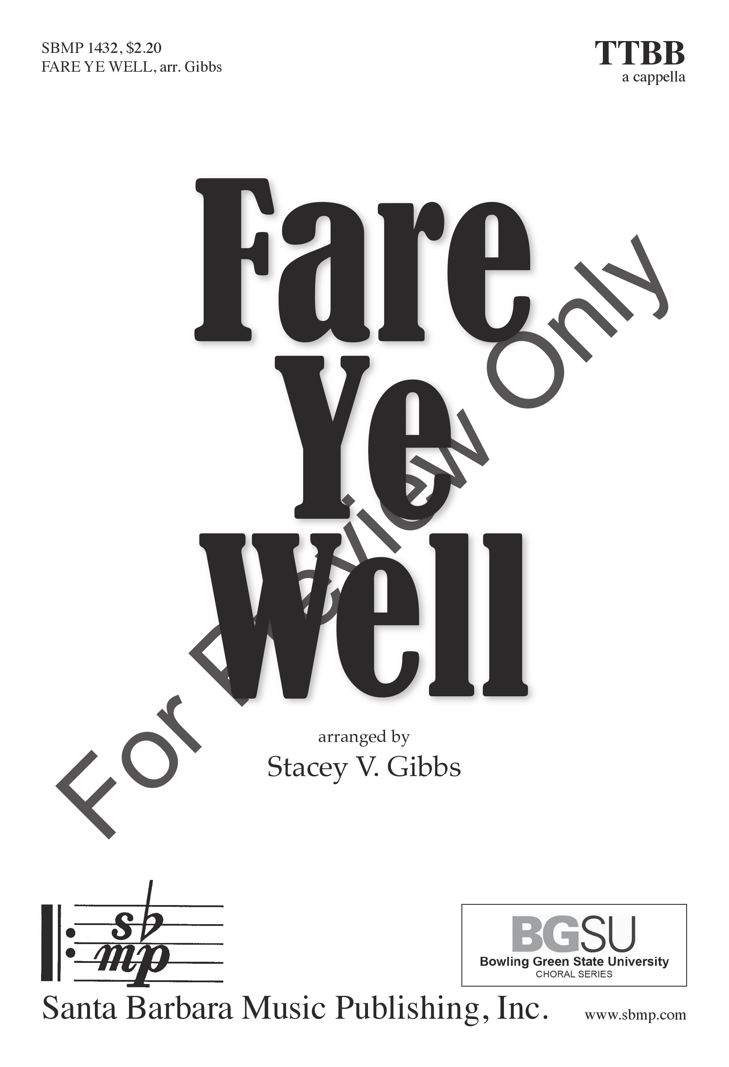 Fare Ye Well Thumbnail