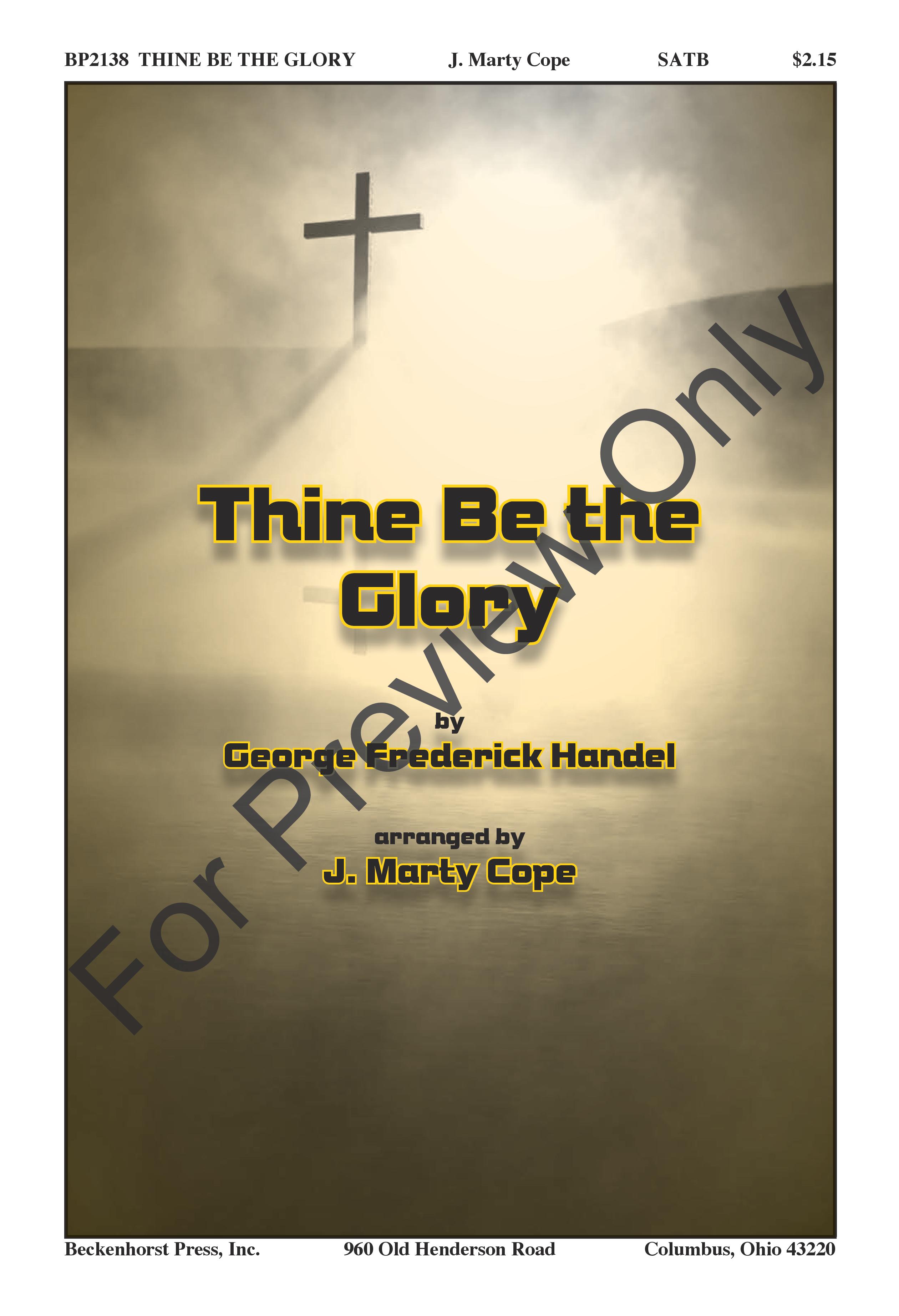Thine Be the Glory Thumbnail