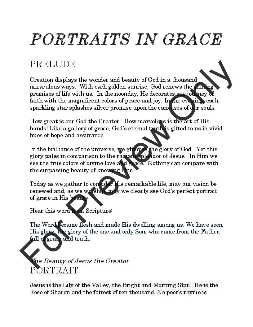 Portraits in Grace Thumbnail