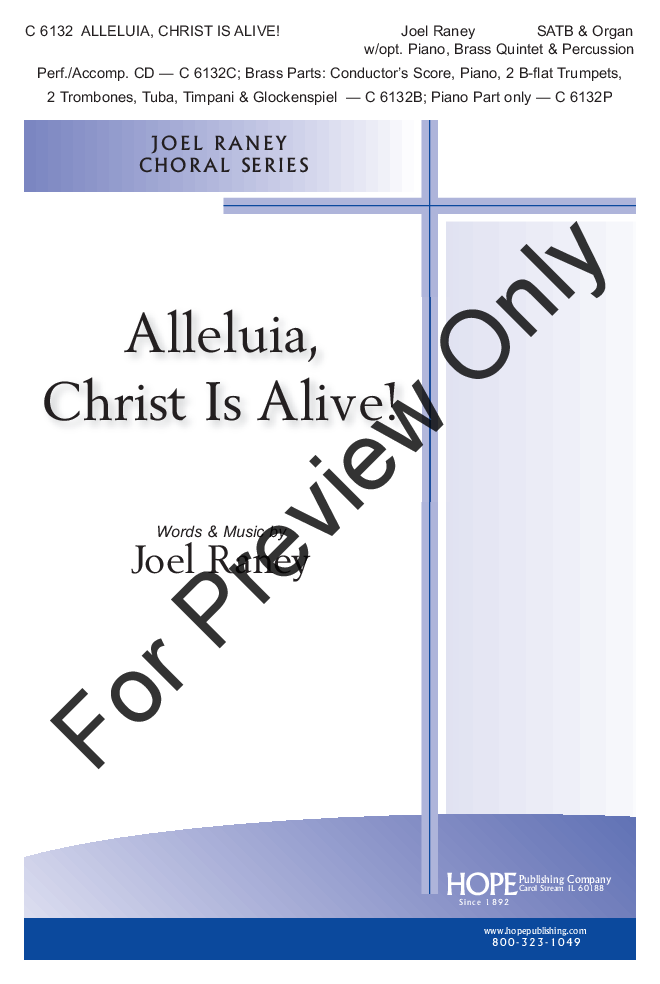 Alleluia, Christ Is Alive! Thumbnail