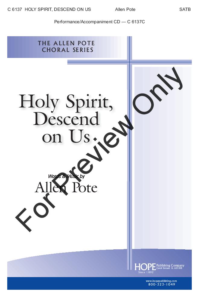 Holy Spirit, Descend on Us Thumbnail
