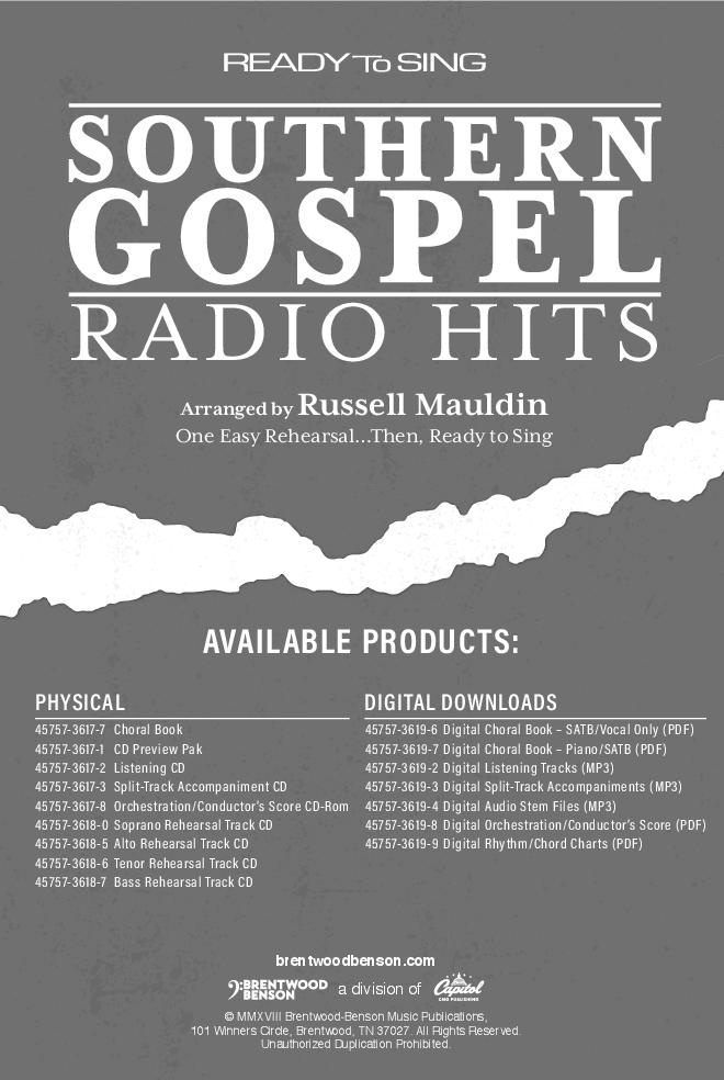 Ready to Sing Southern Gospel Radio Hits (SATB&nb | J W  Pepper