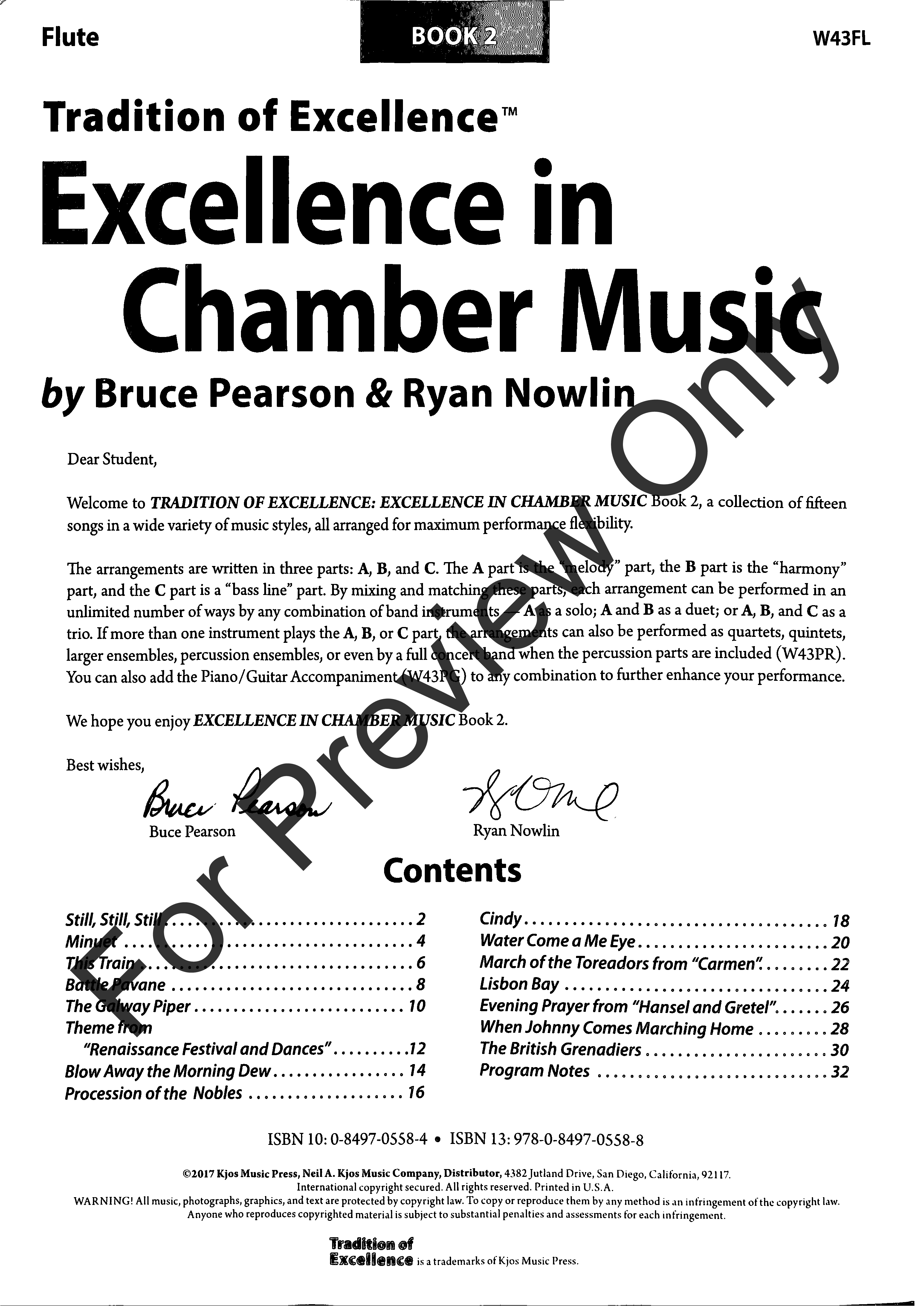 Excellence in Chamber Music, Book 2 Thumbnail