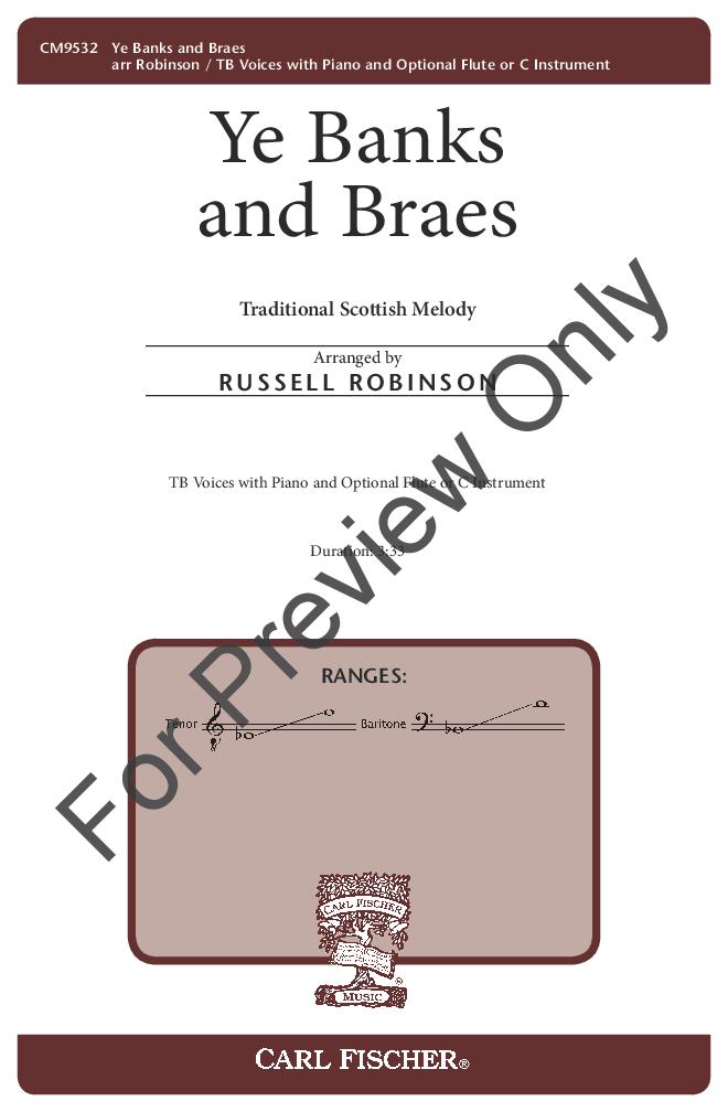 Ye Banks and Braes Thumbnail