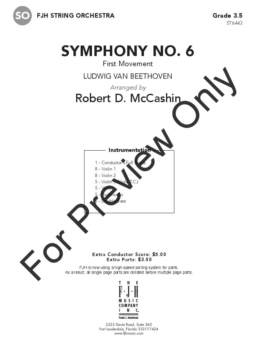 Symphony No. 6 Thumbnail