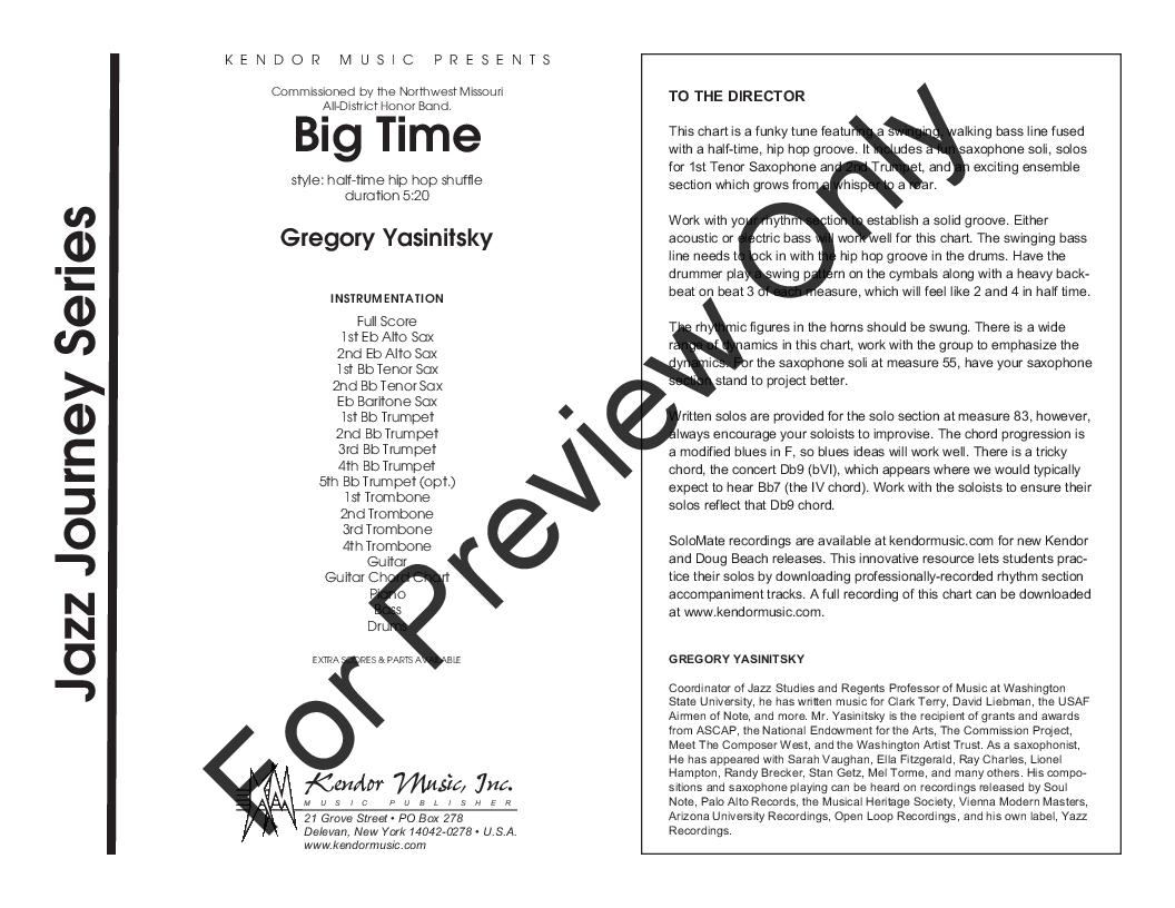 Big Time Thumbnail