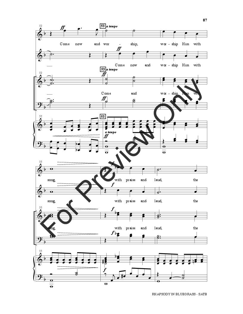 Rhapsody in Bluegrass Thumbnail