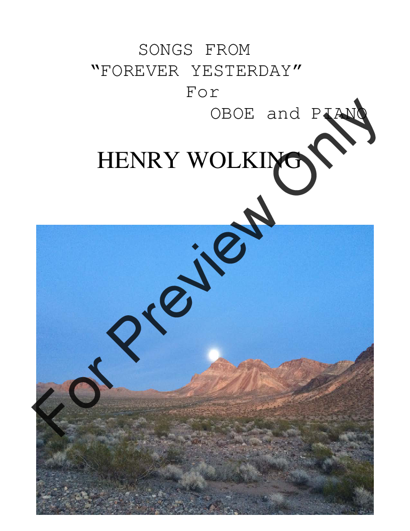 Songs from Forever Yesterday Thumbnail