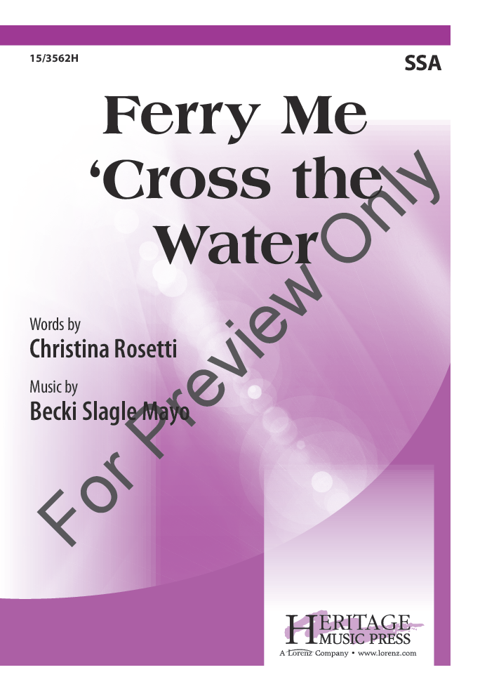 Ferry Me 'Cross the Water Thumbnail