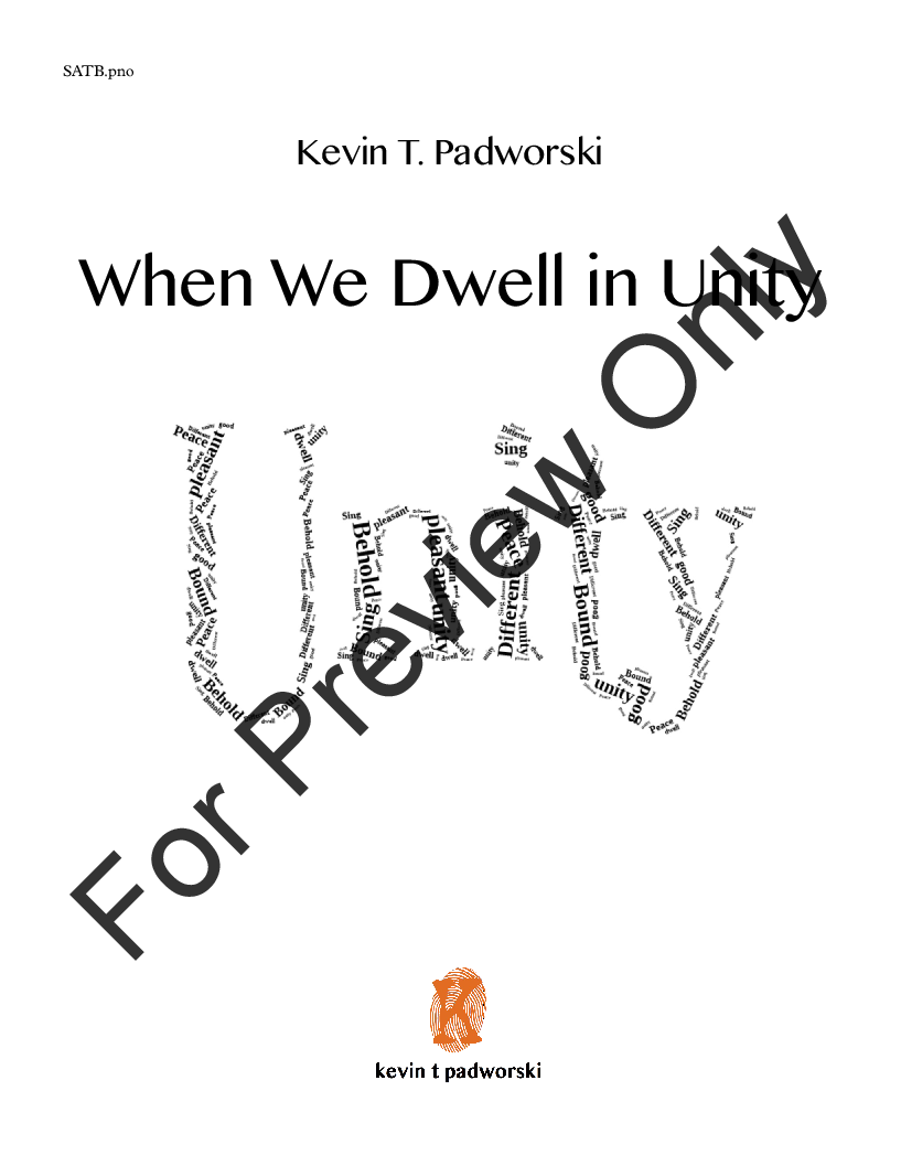 When We Dwell in Unity Thumbnail