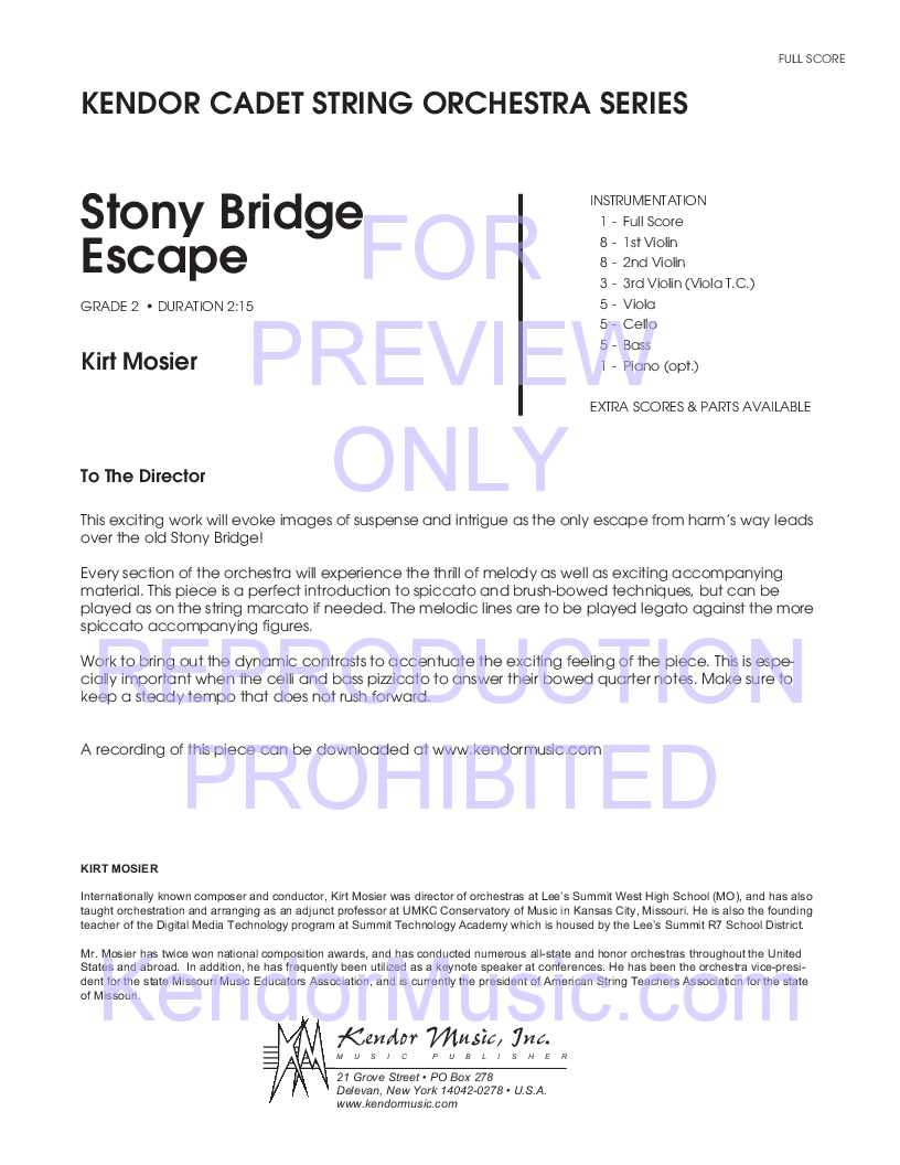 Stony Bridge Escape Thumbnail