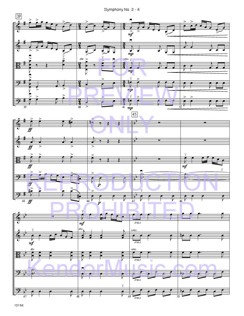 Symphony No. 2 Thumbnail