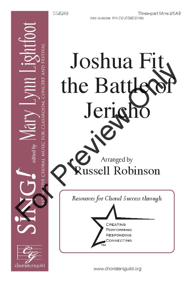 Joshua Fit the Battle of Jericho Thumbnail
