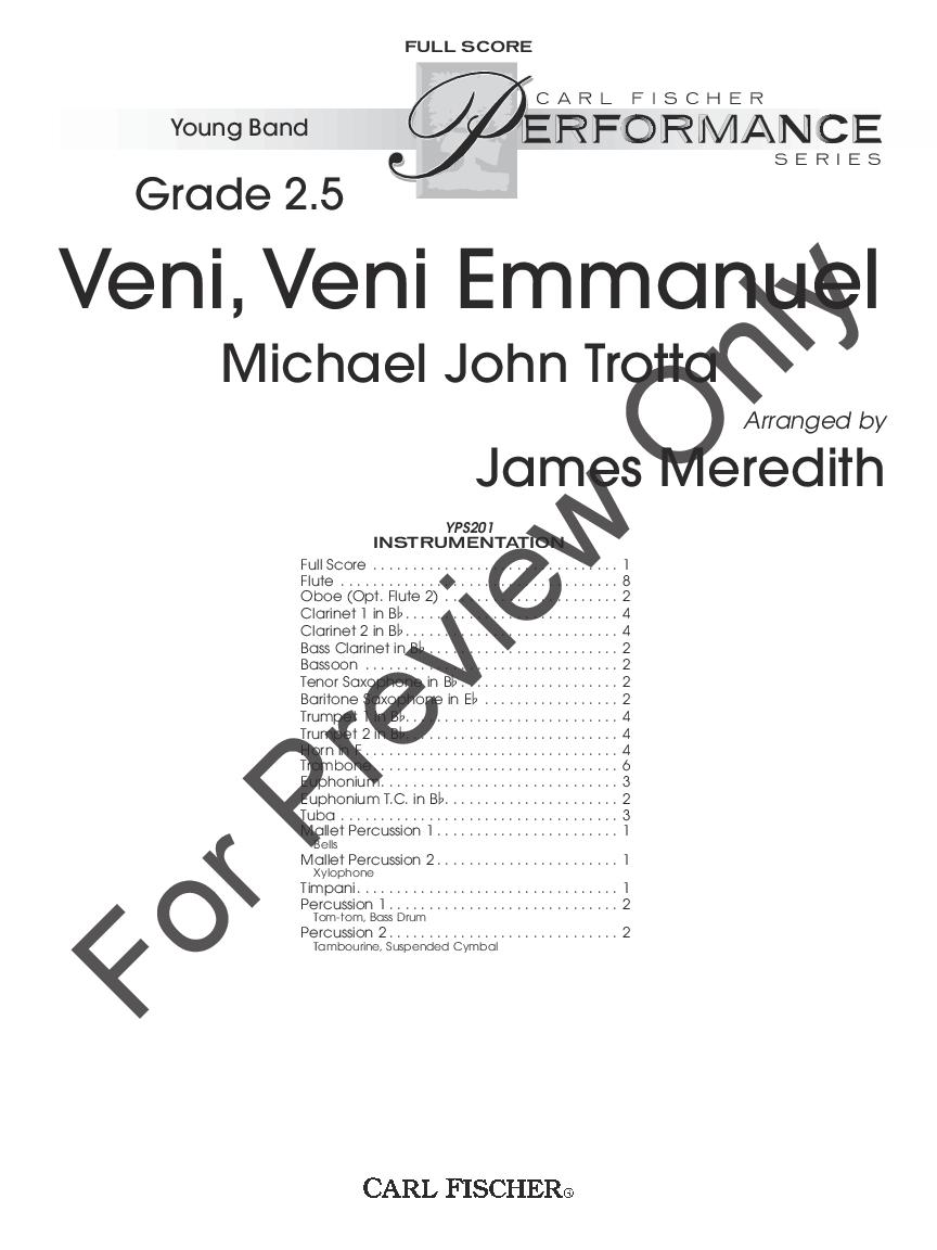 Veni, Veni Emmanuel Thumbnail