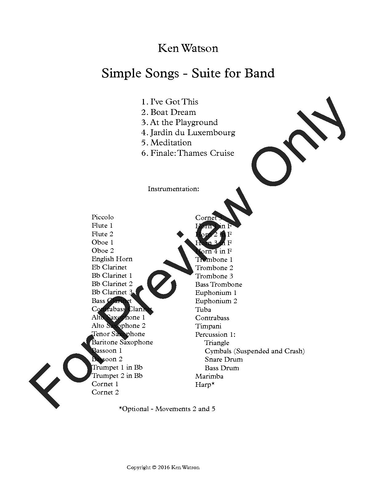 Simple Songs Thumbnail