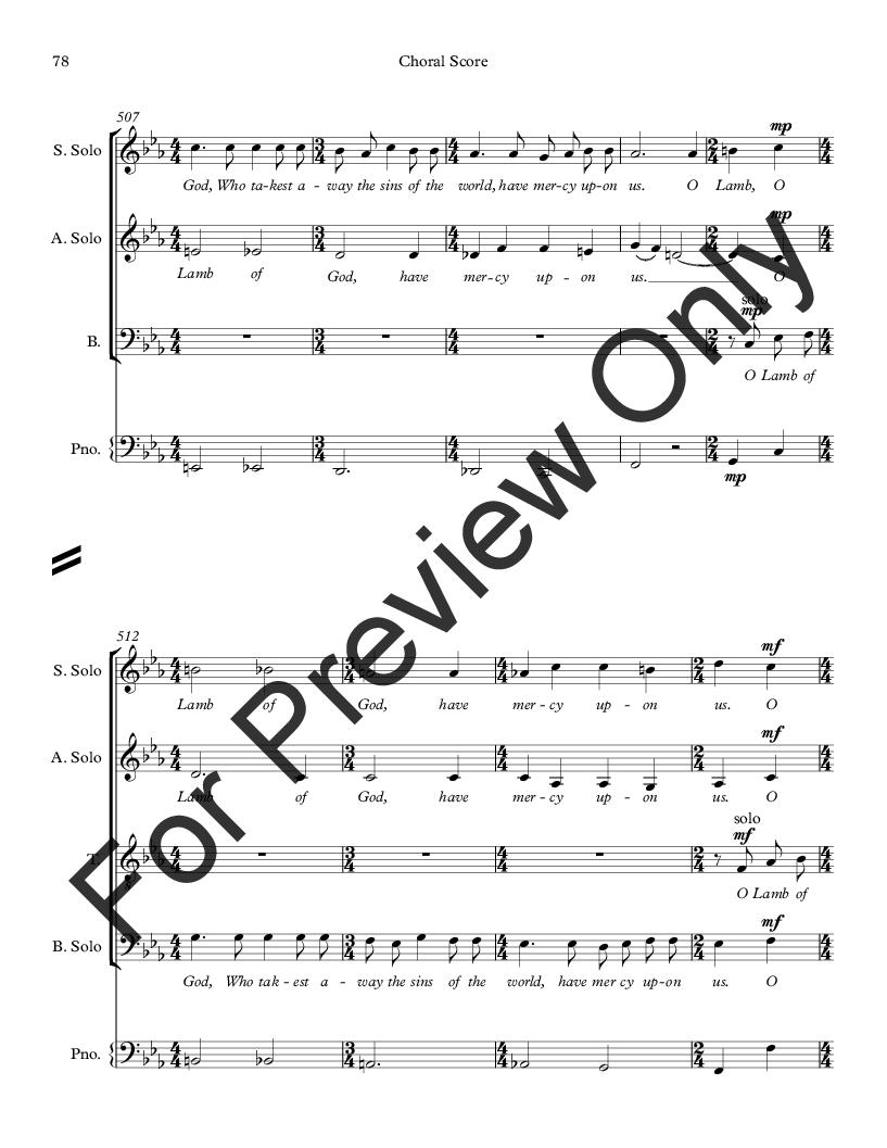 Missa Jubilate Deo Thumbnail