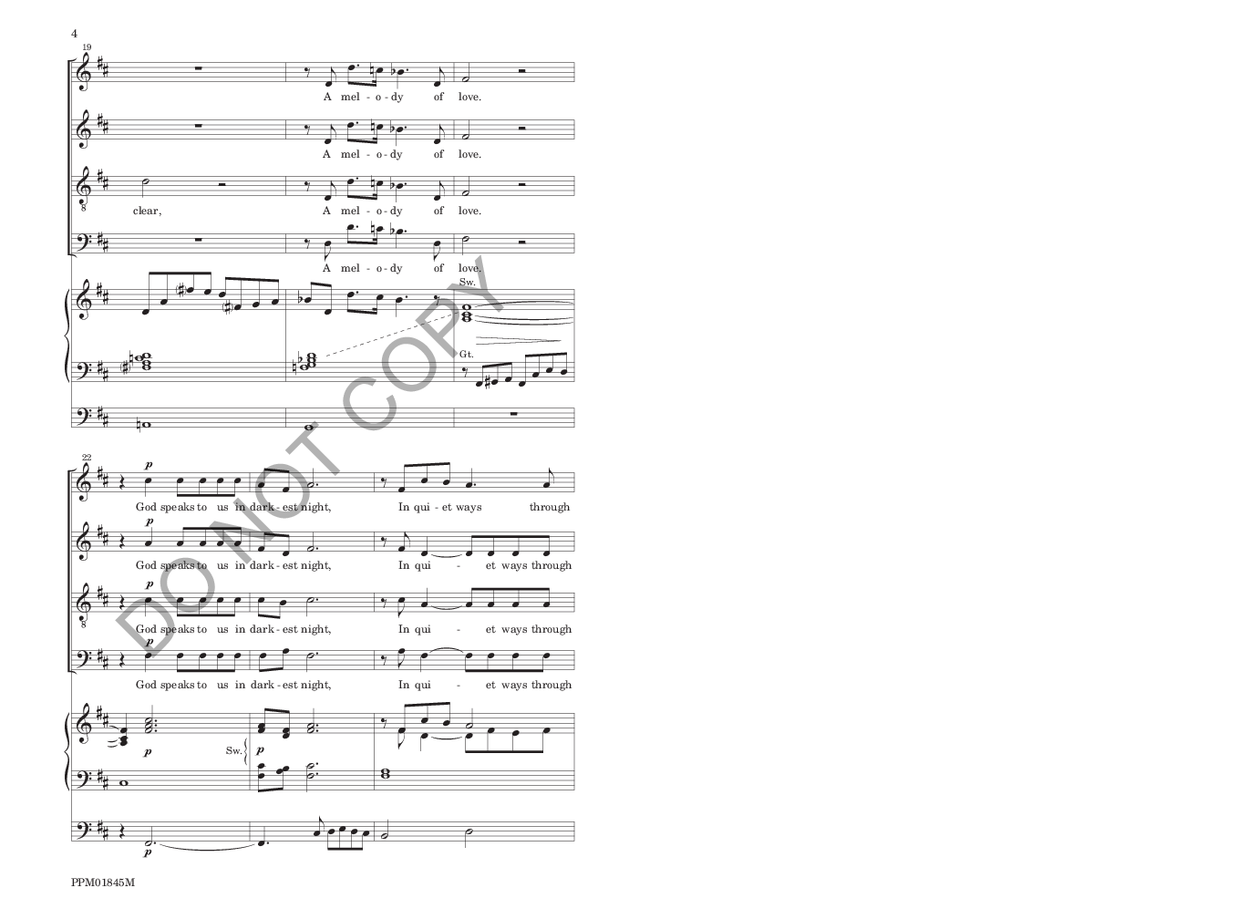 God Speaks to Us in Bird and Song (SATB ) by | J W  Pepper