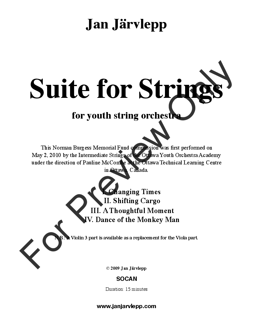 Suite for Strings Thumbnail