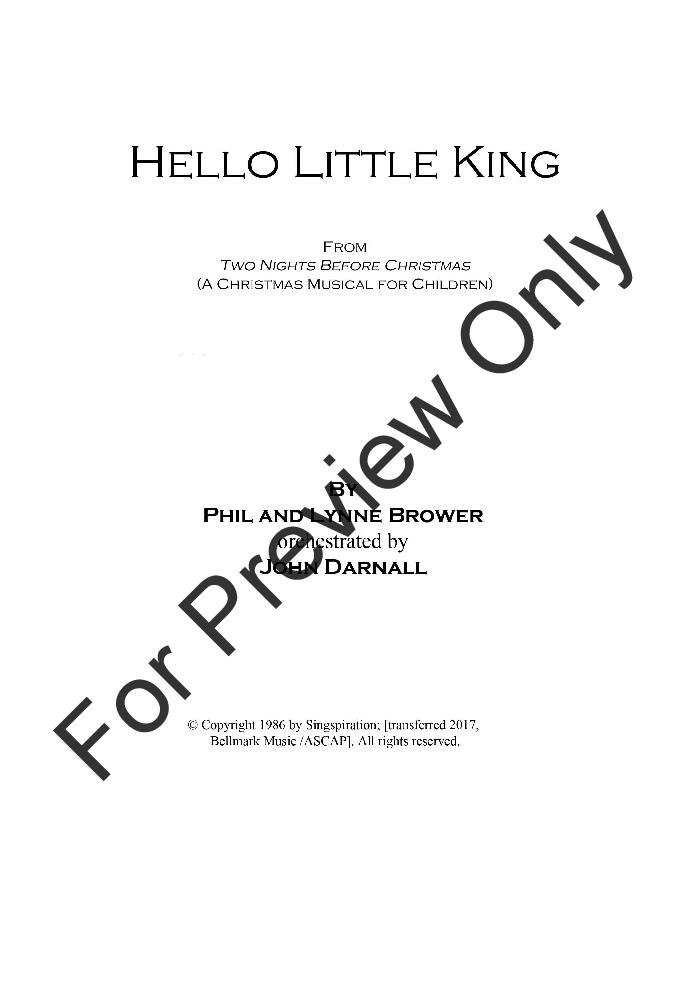 Hello Little King Thumbnail