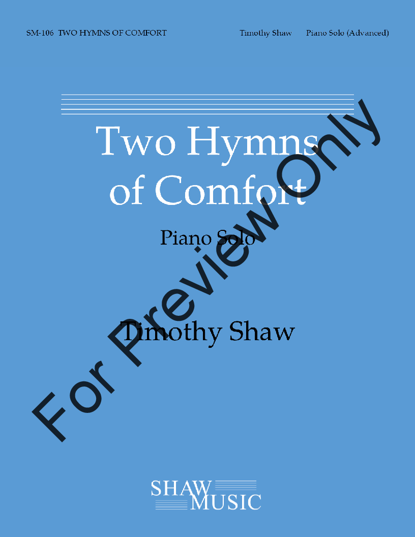 Two Hymns of Comfort Thumbnail