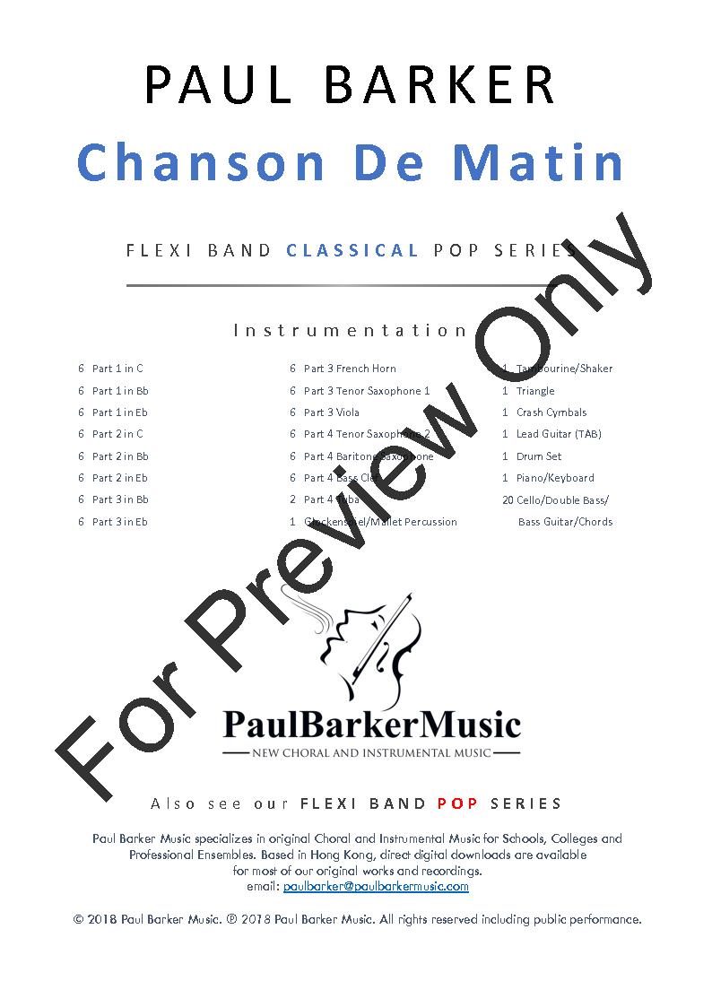 Chanson De Matin Thumbnail