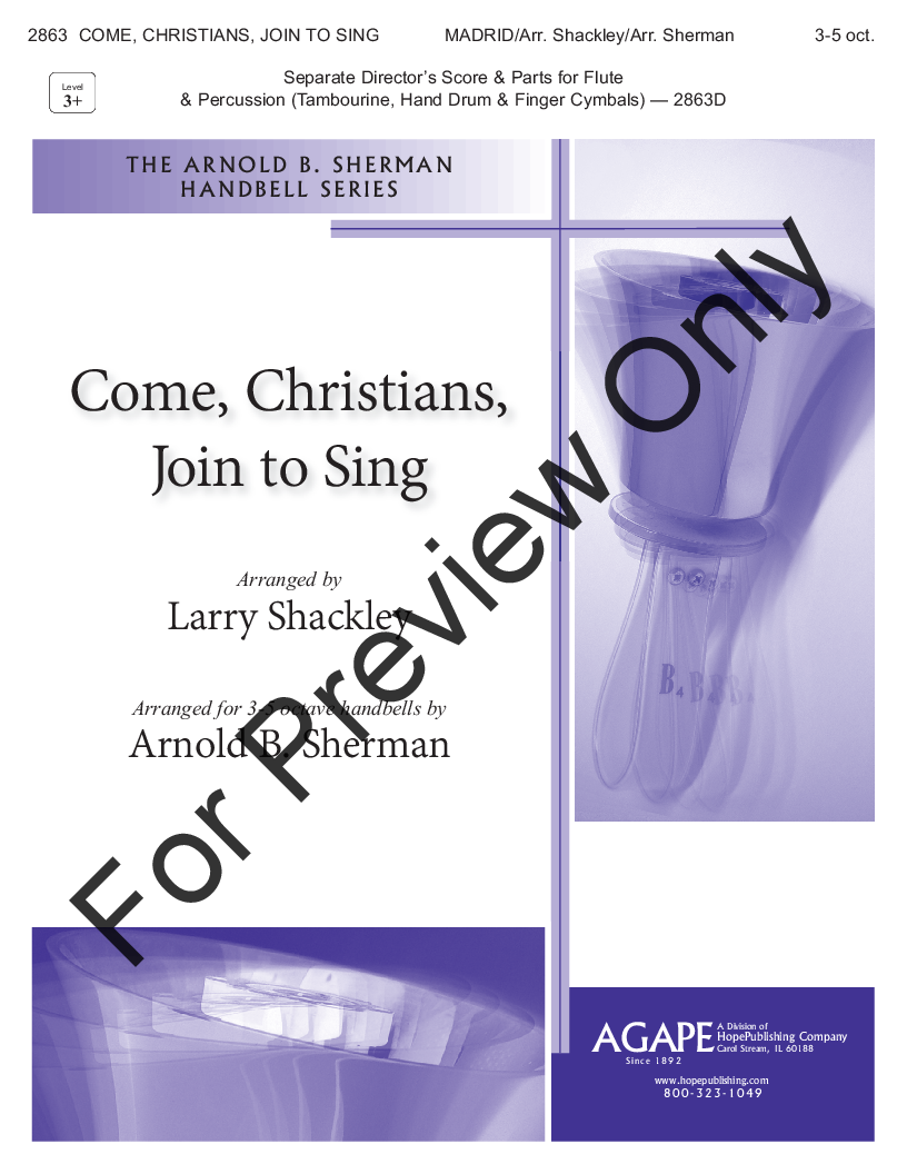 Come, Christians, Join to Sing Thumbnail