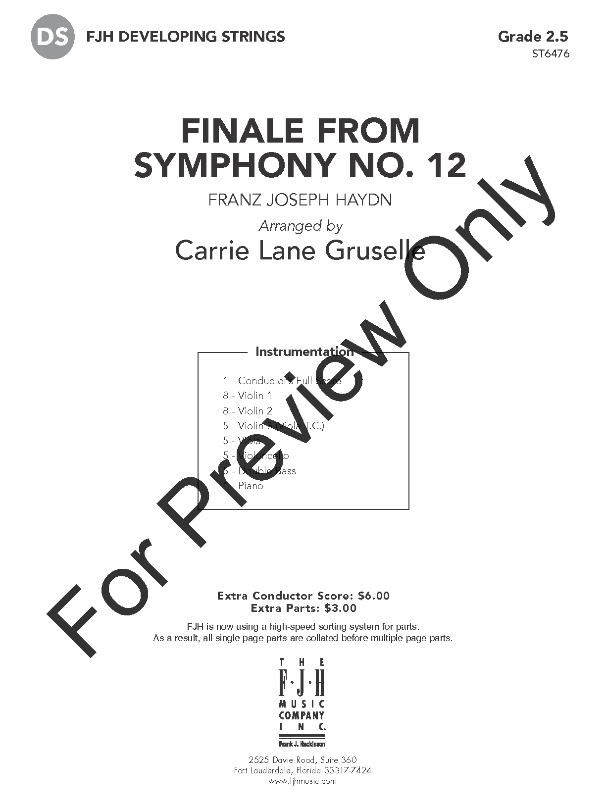 Finale from Symphony No. 12 Thumbnail