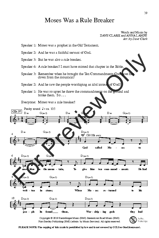 Bible Truths and Fun Songs (Unison/Two-Part | J W  Pepper Sheet Music