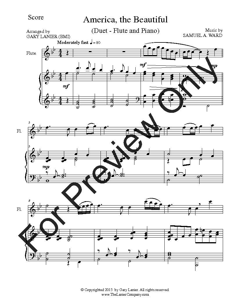 Celebrate America Flute Solo Collection Wit J W Pepper Sheet Music Bach air on the g string from suite no. celebrate america flute solo