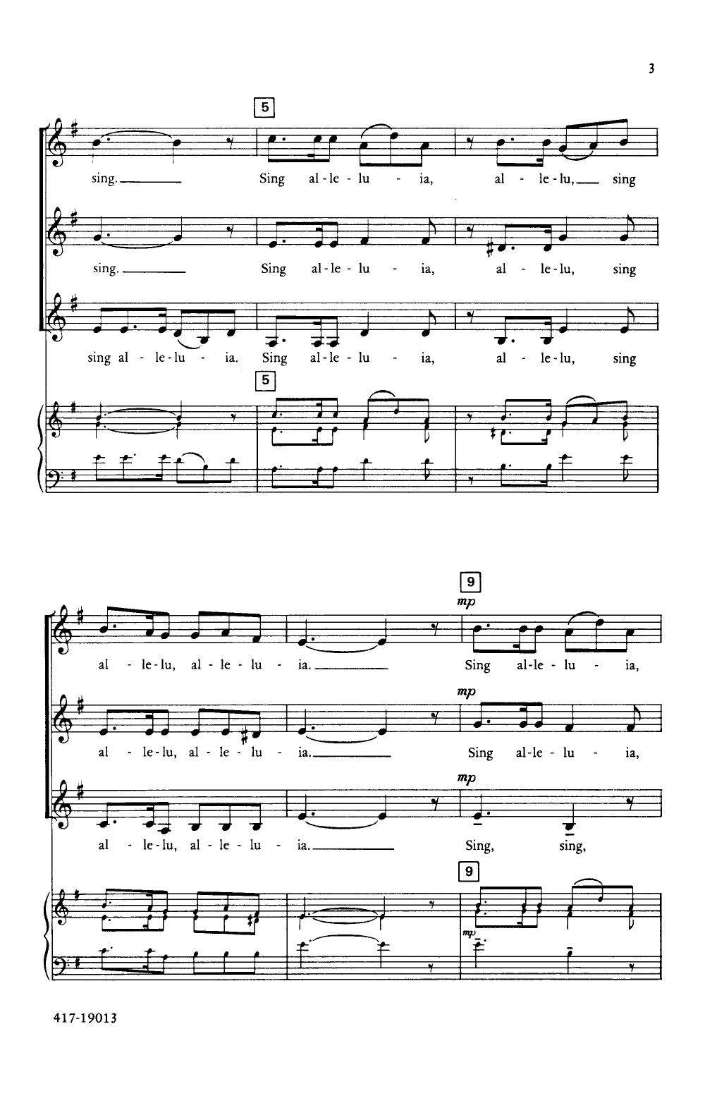 Sing Alleluia Sing Thumbnail