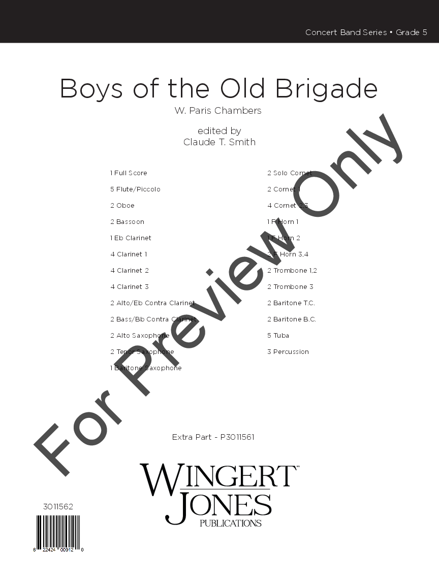 The Boys of the Old Brigade Thumbnail