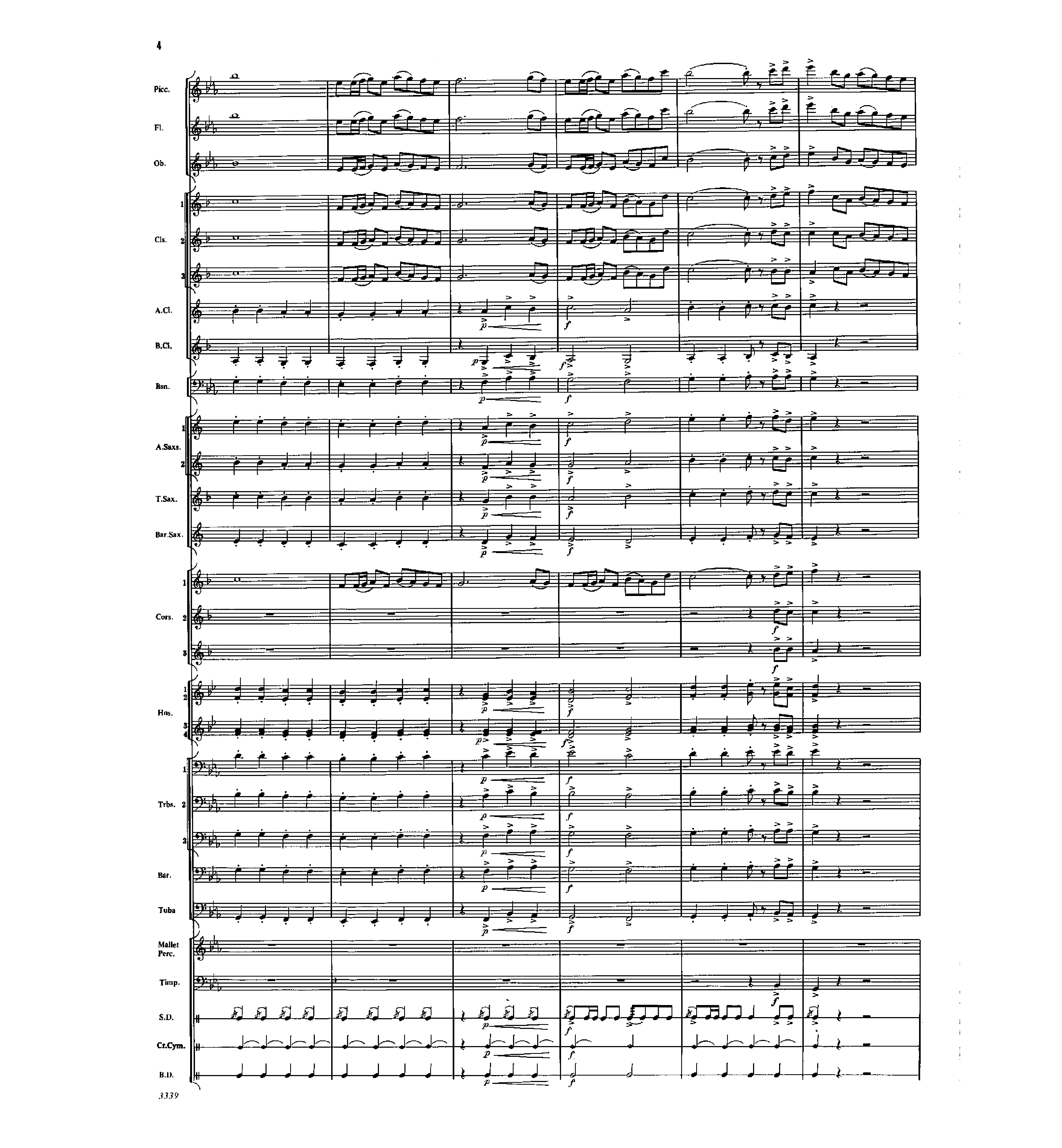 Covington Square by James Swearingen| J W  Pepper Sheet Music