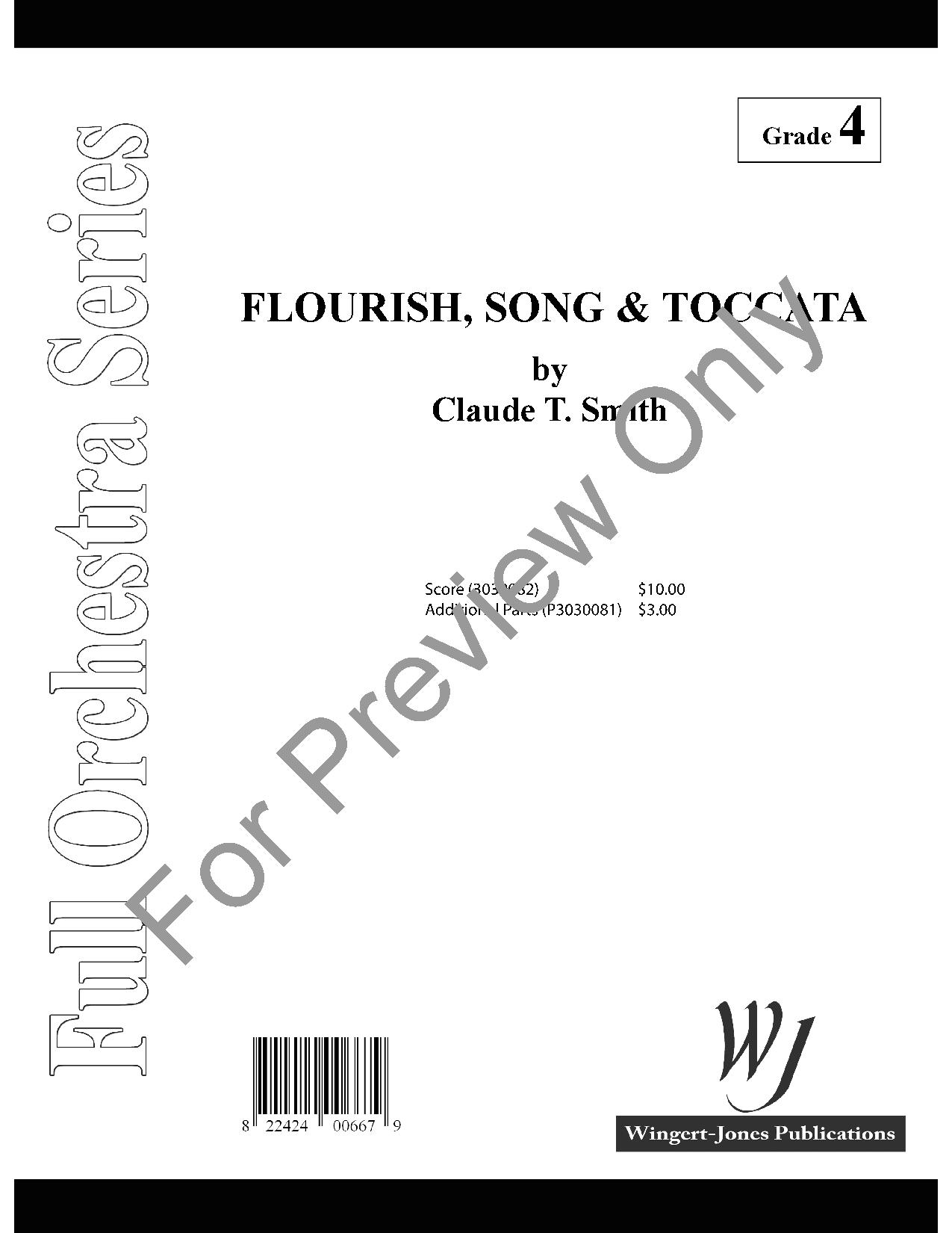 Flourish Song and Toccata Thumbnail