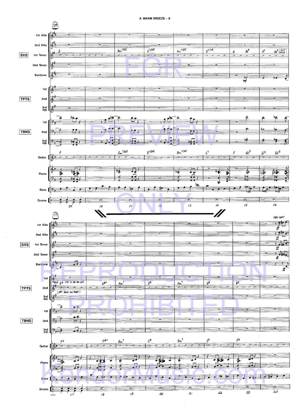 A Warm Breeze by Sammy Ne | J W  Pepper Sheet Music