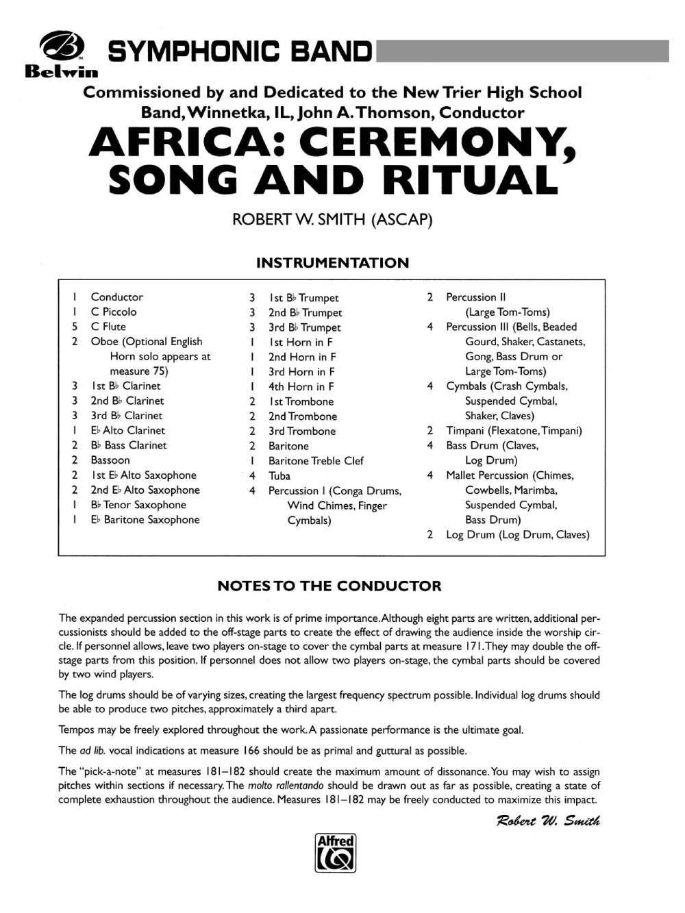Africa: Ceremony, Song and Ritual by Robert W  Sm | J W
