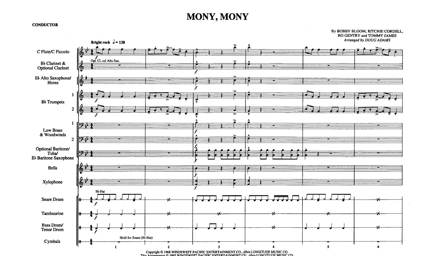 mony mony release date