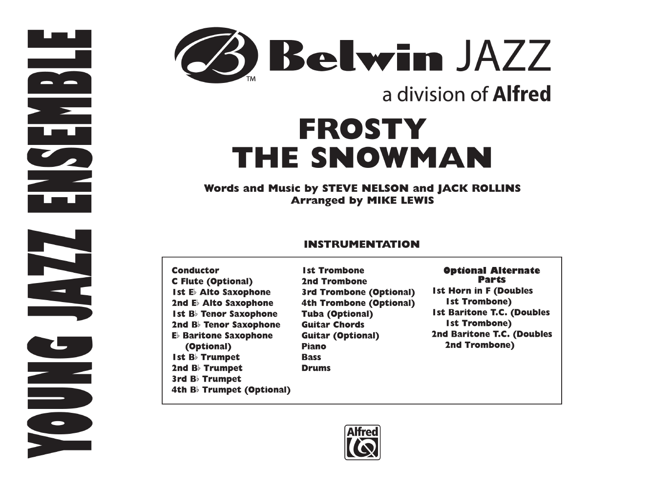 photograph regarding Frosty the Snowman Sheet Music Free Printable referred to as Frosty the Snowman arr. Mike Lewis J.W. Pepper Sheet New music