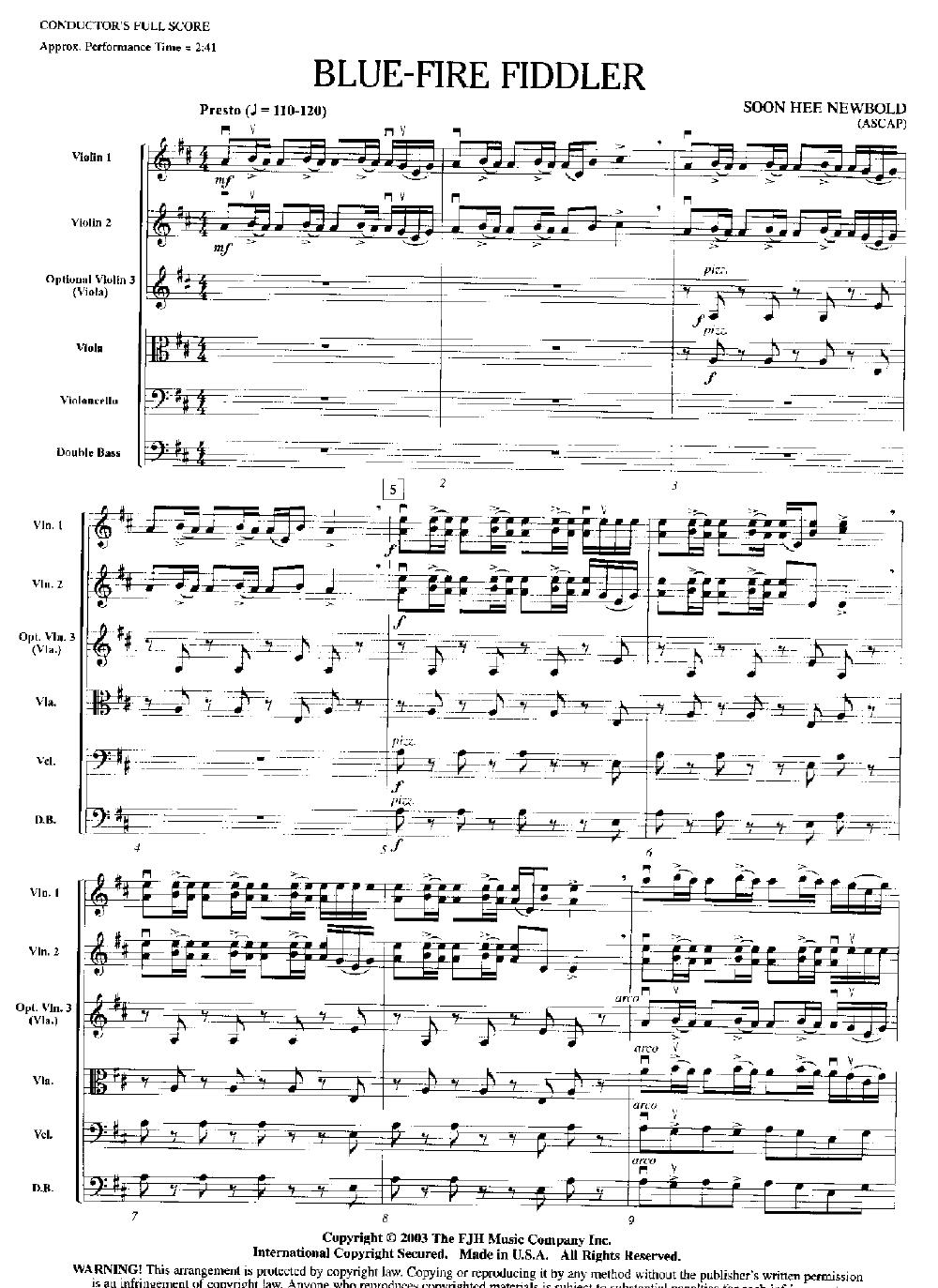 Blue-Fire Fiddler Thumbnail