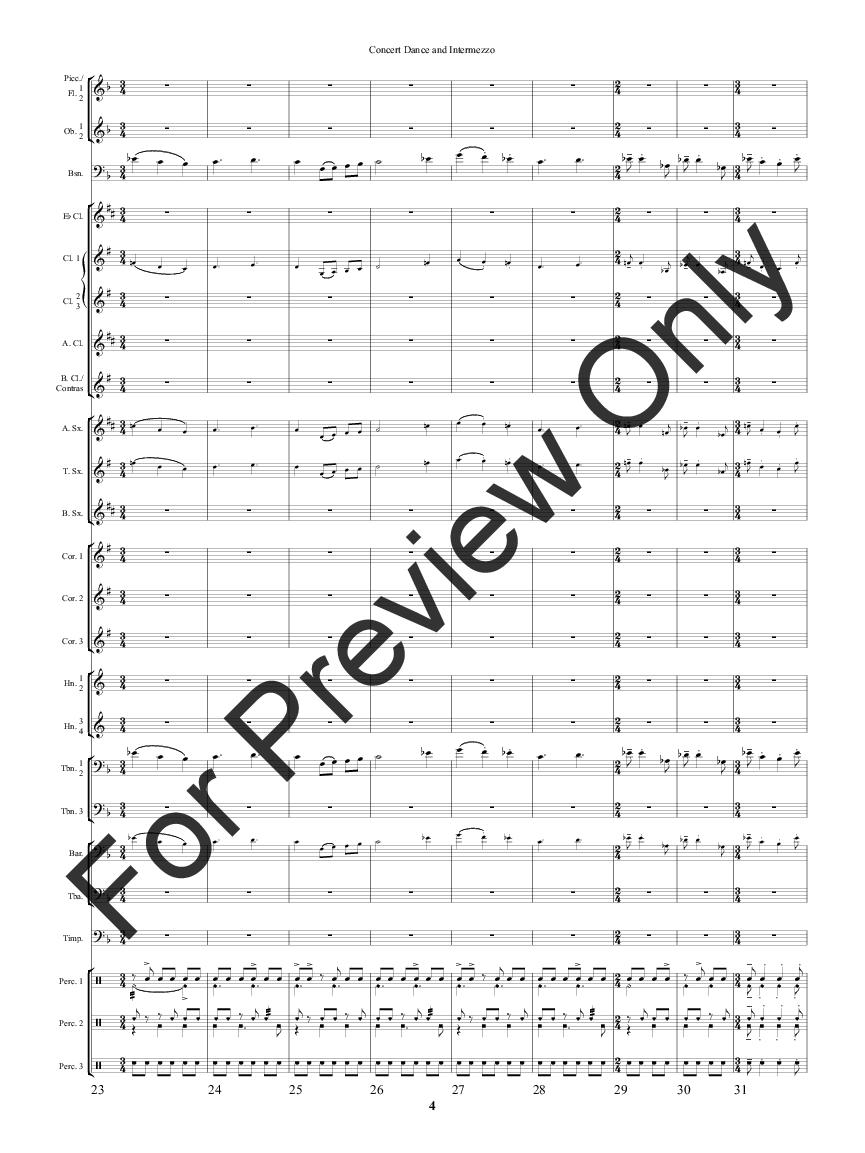 Concert Dance and Intermezzo Thumbnail