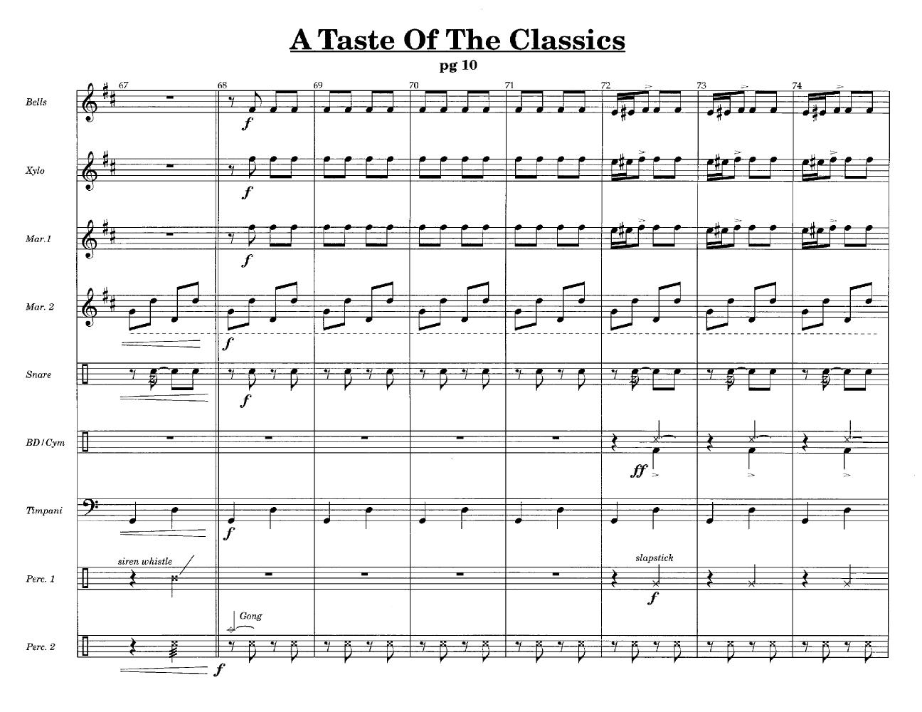 A Taste of the Classics Thumbnail