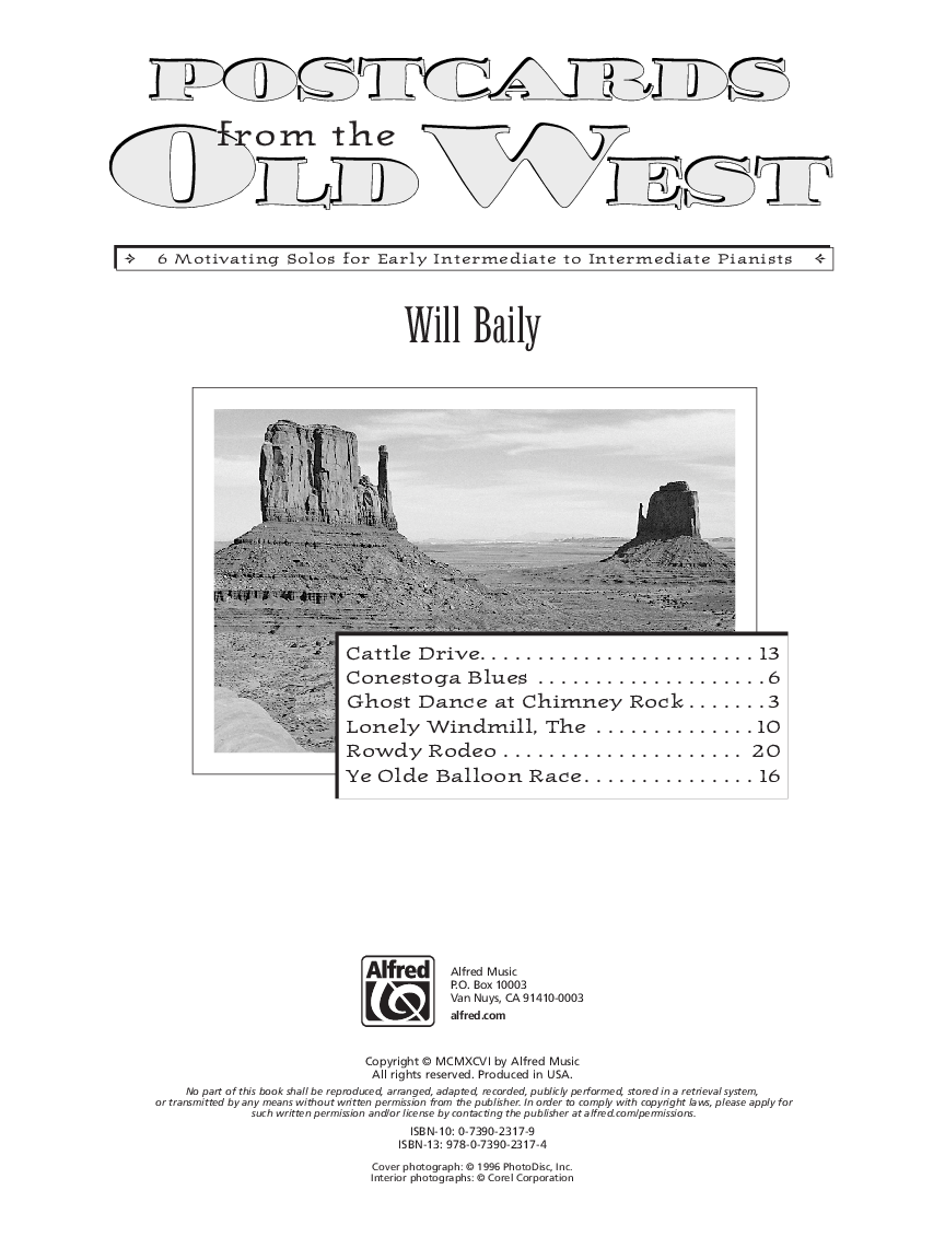 Guide Postcards from the Old West: For Early Intermediate to
